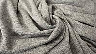 Трикотаж софт меланж светло-серый