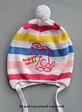 Легкая детская шапочк на 9 месяцев, фото 3