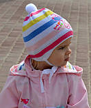 Легкая детская шапочк на 9 месяцев, фото 4