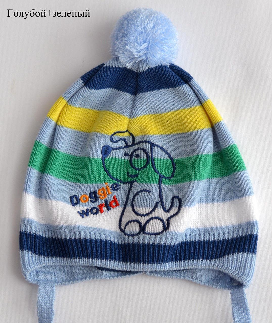 Легкая детская шапочк на 9 месяцев