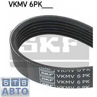 Ремінь генератора +АС (з конд.) Fiat Doblo 1.3MJTD 16v (SKF VKMV 6PK1306)