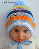Легкая детская шапочк на 9 месяцев, фото 6