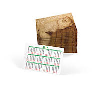 Изготовление карманных календарей (оперативно/любые тиражи/350 гр/м2/4 дня), фото 3