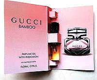 "Парфюмерное масло Gucci ""BAMBOO"" 5 мл, духи с феромонами для женщин"