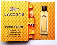 """Парфюмерное масло Lacoste """"Pour Femme"""" 5 мл, духи с феромонами для женщин"""
