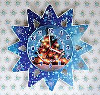 Настенные часы Рождественская звезда