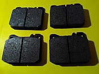 Колодки тормозные передние дисковые Mercedes w123/w126/w116 1972 - 1991 10222 Tomex
