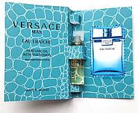 """Парфюмерное масло Versace """"Eau Fraiche"""" 5 мл, духи с феромонами для мужчин"""