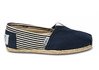 Мужские TOMS Navy University Rope Sole Men's Classics, фото 1