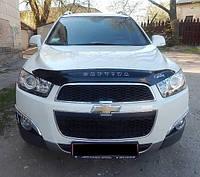Дефлектор капота (мухобойка) Chevrolet Captiva 2012-