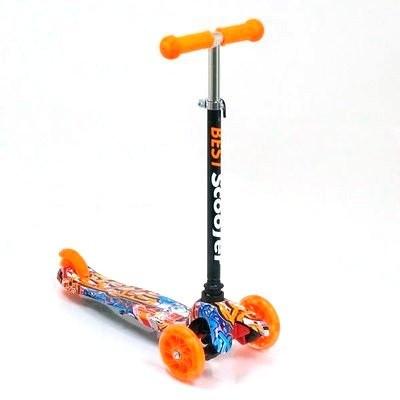 Детский самокат трехколесный Best Scooter 1289