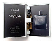 "Парфюмерное масло Chanel ""Bleu de Chanel"" 5 мл, духи с феромонами для мужчин"