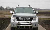 Дефлектор капота (мухобойка) Nissan Pathfinder (R51) 2004-2010 Vip Tuning NS25