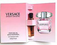 "Парфюмерное масло Versace ""Bright Crystal "" 5 мл, духи с феромонами для женщин"