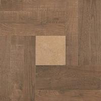 Плитка для пола Zeus Ceramica Intarsio rectified noce 600х600 (ZRXIN-6R)