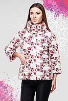 Куртка молодежная представлена в ярких весенних принтах