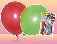 Воздушные шары круглые разноцветные 23см 10шт/уп