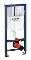 Инсталяционный комплект 4 в 1 в сборе, для  подвесного унитаза Grohe Rapid SL 38772001 (аналог  38775001)