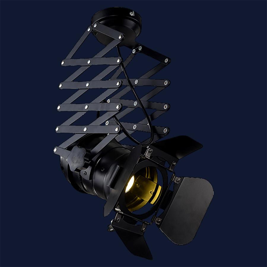 Подвесной прожектор на пружине LOFT L5215 Black