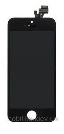 Дисплей с сенсорным экраном iPhone 5 черный