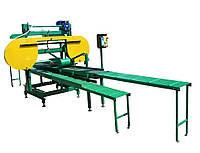Ленточно-делительный станок (горбыльный станок) ПЛПГД-250