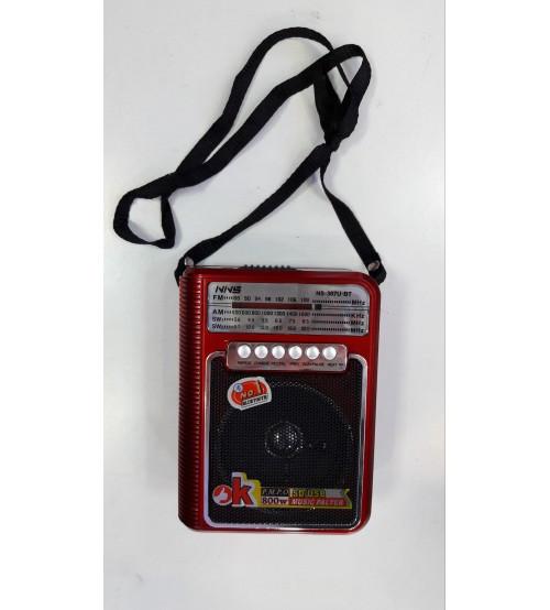 FM цифровой радиоприёмник NNS NS-307 U BT переносной