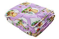 Одеяло детское 110х140 в кроватку