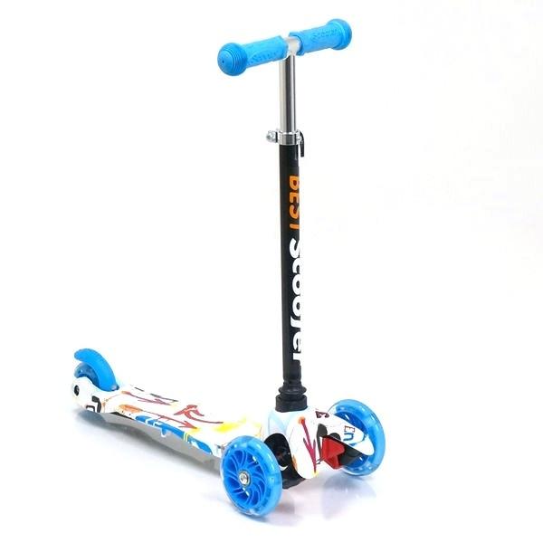 Детский самокат трехколесный Best Scooter 1291