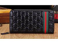 Мужской кошелек Gucci (112723) black