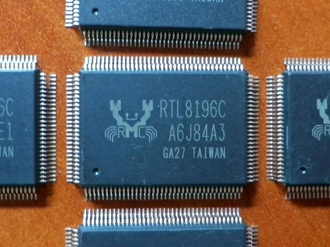 RTL8196C (RTL8196B)  - 802.11n роутер, сетевой процессор EEE