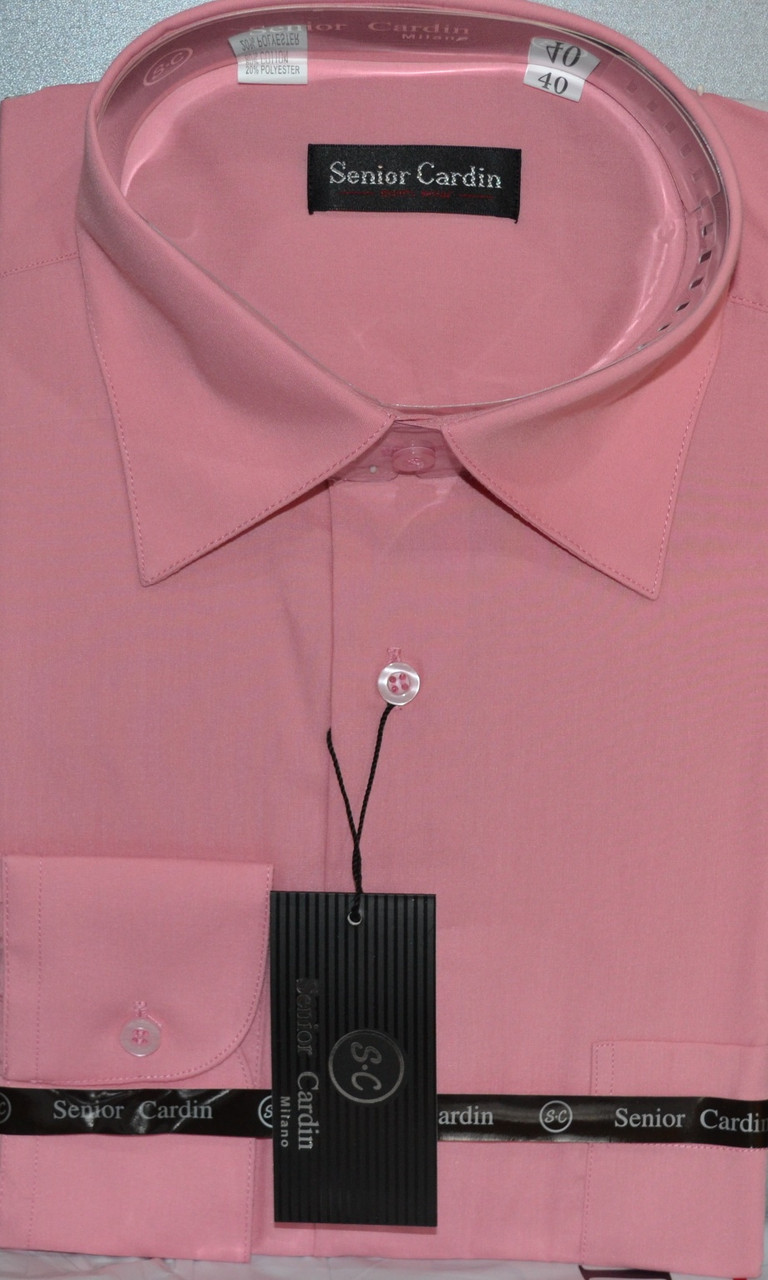 Мужская рубашка SeniorCardin - классика (39 размер)