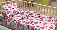 Постельное бельё для младенцев фланель LILU