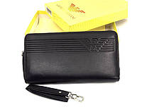 Мужской кошелек Giorgio Armani (GA 3909) black