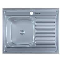 Мойка кухонная 0,6мм нержавейка с комплектом  Imperial-6080-L накладная (Матовая)