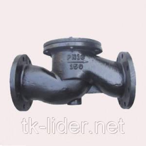 Клапан зворотний чавунний фланцевий 16ч6бр ду80 Ру16, фото 2
