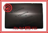 Крышка матрицы (задняя часть) ASUS N750J Темно-серый