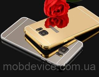 Чехол бампер Samsung Galaxy Note 3 Note 4 Note 5 Note 7 зеркальный