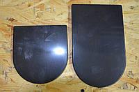 Комплект крышек Royal / Magic черный металлик