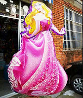 Принцесса Аврора. Большой воздушный шарик из фольги 89 см.