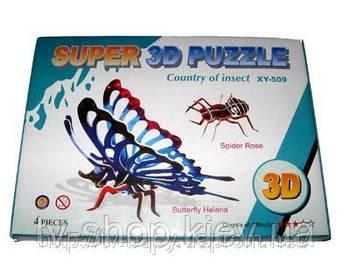 Пазлы 3D
