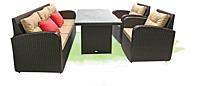 Садовая мебель из искусственного ротанга «Ривьера»