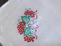 Скатерти льняные с художественной вышивкой