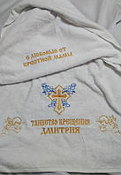 Махровое полотенце для крещения