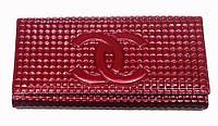 Кошелек Chanel C-3535 женский из натуральной кожи монетница внутри на защелке