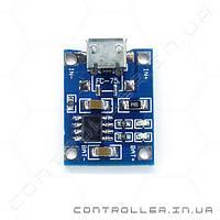 TP4056 - контроллер заряда Li-Ion аккумуляторов micro USB