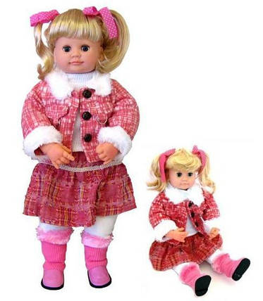 Интерактивная кукла Ксюша М 5113, обучающая, мимика, фото 2