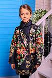 Куртка-пальто для девочки Дольче. Детская одежда. , фото 3