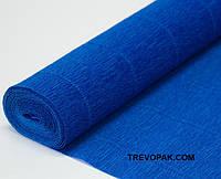 Креп бумага синяя  №557 Италия