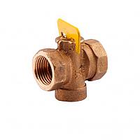 Кран газовый конусный пробковый ду-15 Sandi