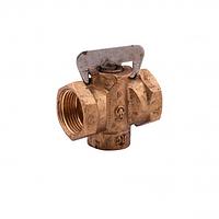 Кран газовый конусный пробковый ду-20 Sandi